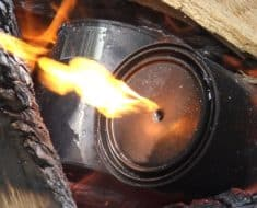charcoal can