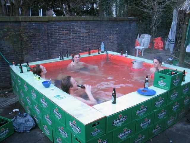 for the love of beer pool - Crazy Swimming Pools