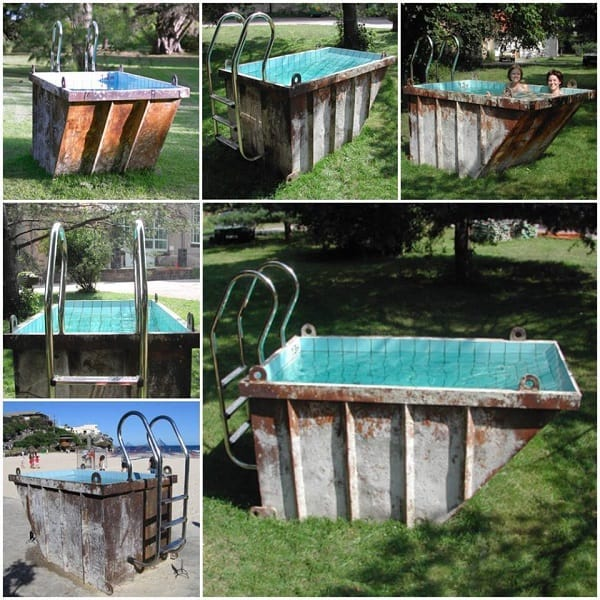 the dumpster diver pool