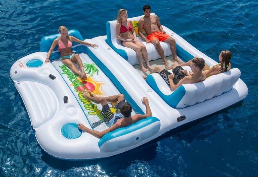 The Top 18 Inflatable Floating Islands Reviewed Float Your Way To An Awesome Summer Awesomejelly Com