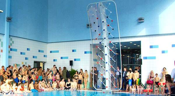 If The Price Is Too Steep And Your Thinking You Want To Try This Out, Call  Your Local Pools And Ask If They Have The Climbing Wall.