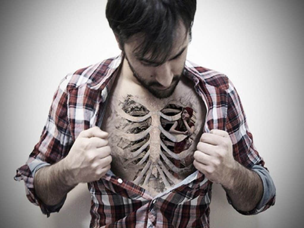 Chest tattoo designs for men - Cool Chest Tattoo Designs For Men Funny Free