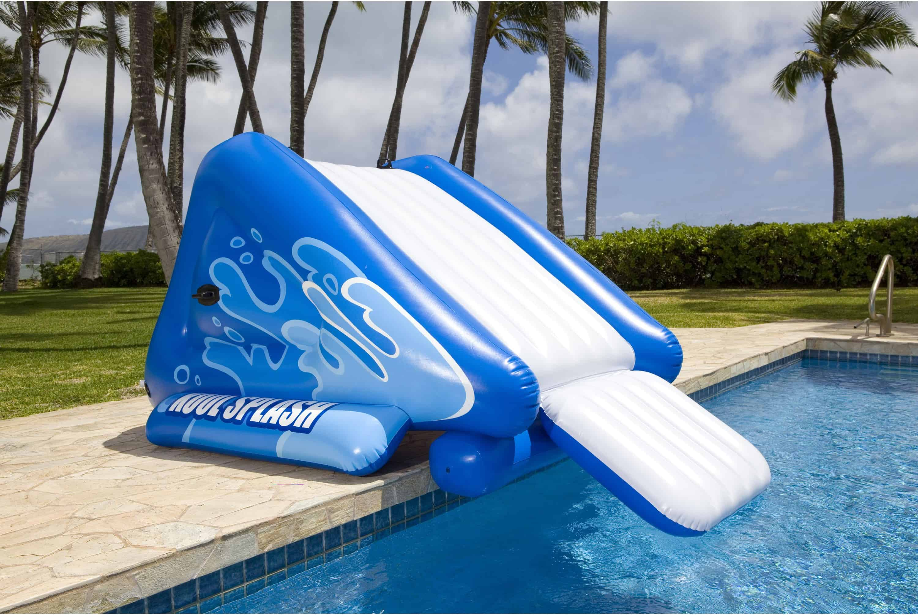 This Poolside Water Slide From Walmart Will Turn Your Pool