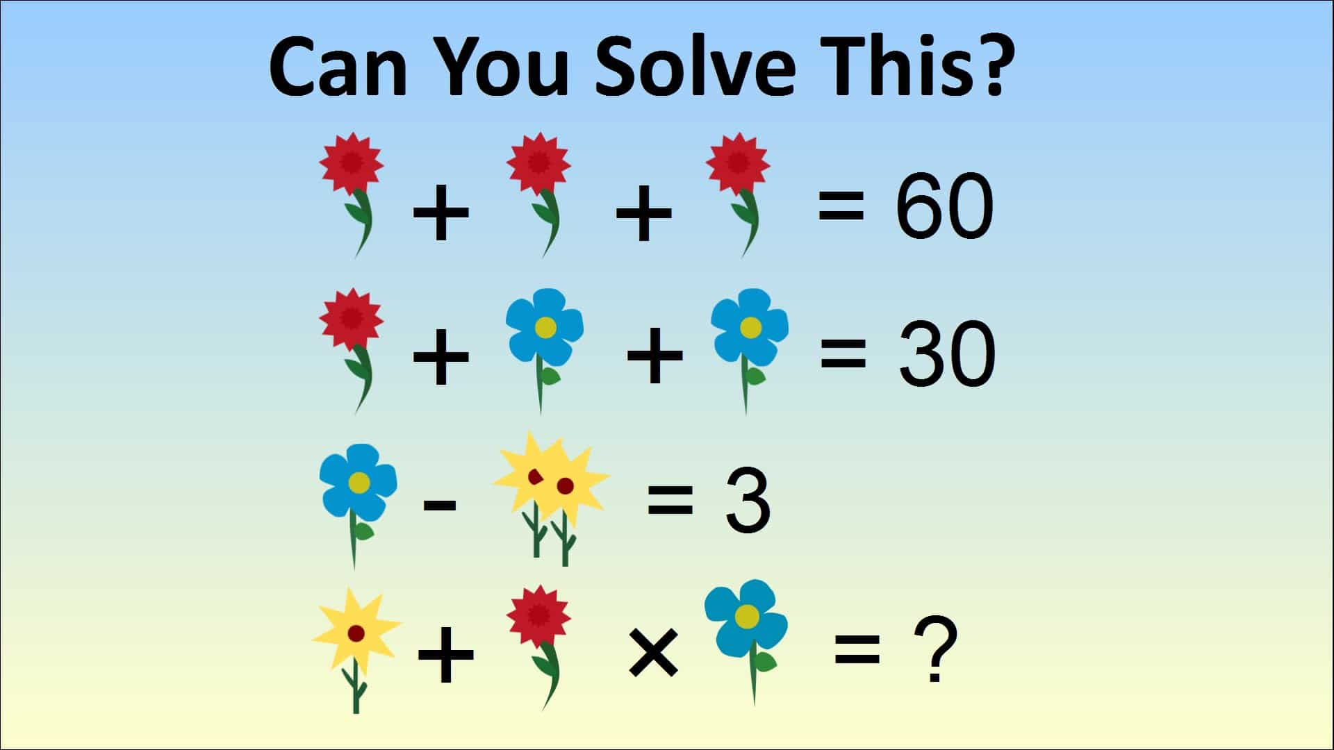 answer to a math problem Louise bloxham from england tweeted the above photo of a math problem with the caption, have you seen this one year 2  if you can come up with an answer to the problem that is even .