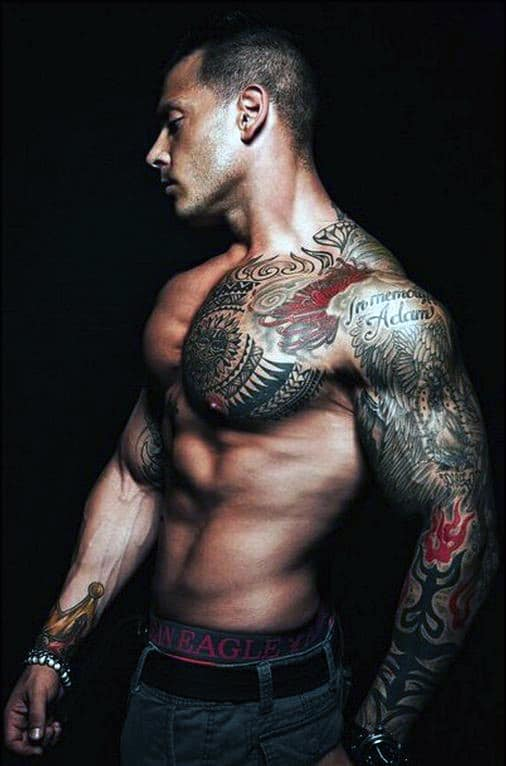 men-chest-piece-tattoos
