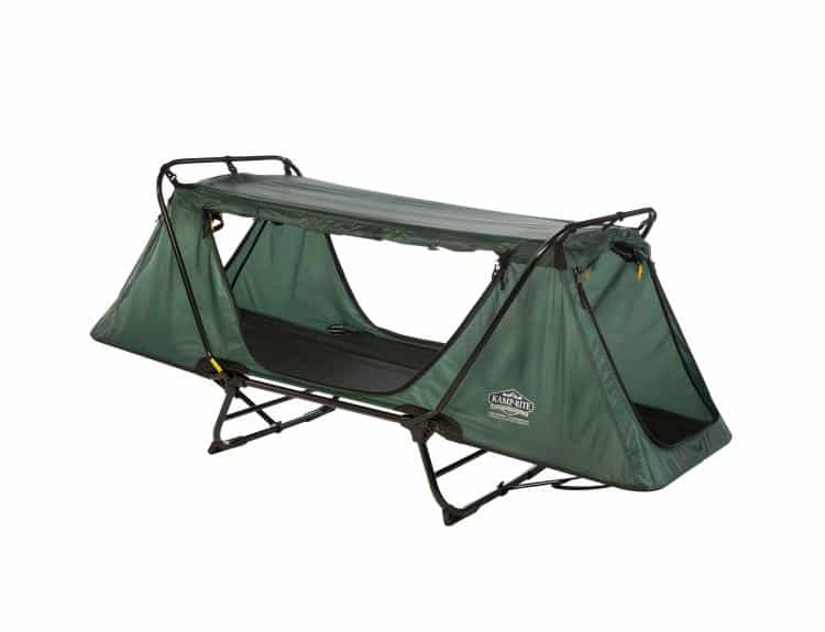 How To Turn Kamp Rite Double Tent Cot Into A Bed