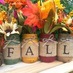 burlap-fall-mason-jar