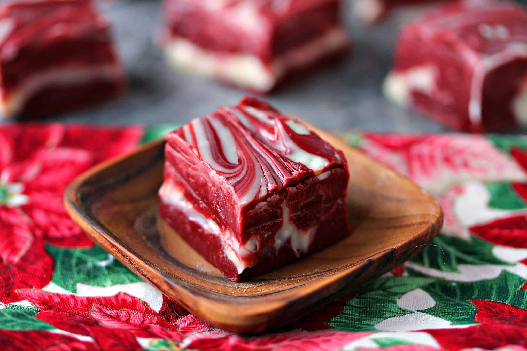 Winter Red Velvet Fudge Is The Only Holiday Treat You Need