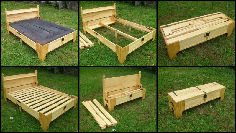 How To Make This Amazing Diy Wood Bed In A Box