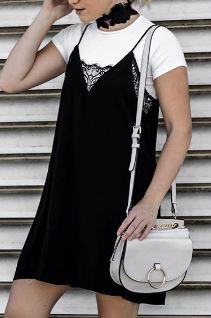 black-lace-slip-dress
