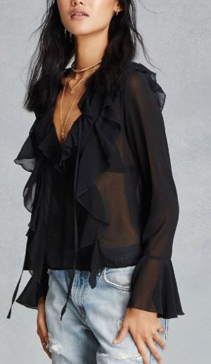 black-ruffled-top