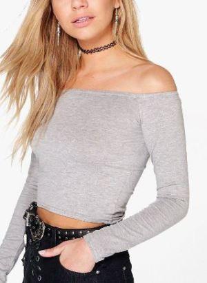 grey-off-the-shoulder-top