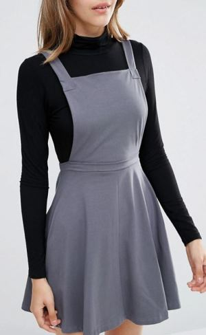 grey-overall-dress