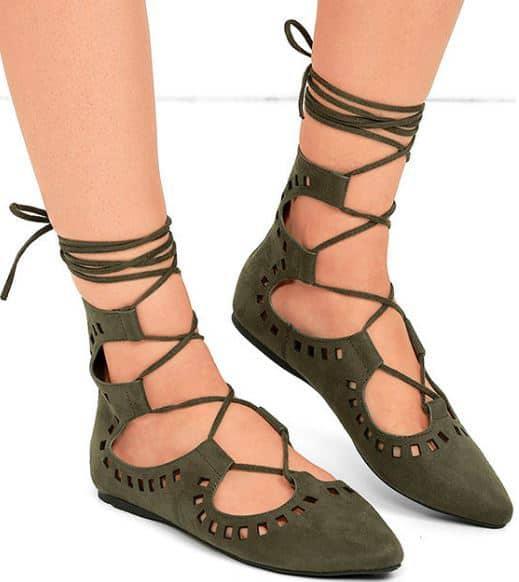 khaki-lace-up-flats