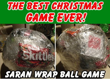 The 'Saran Wrap Ball' Christmas Party Game Is A Must ...