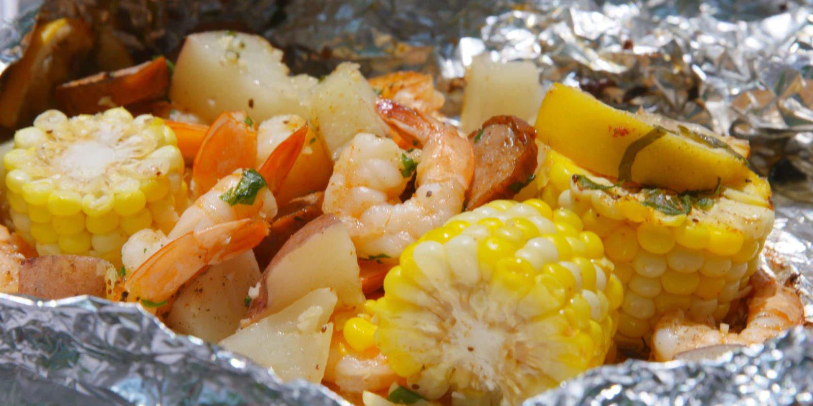 Shrimp Boil Foil Packets Easy Make Ahead Foil Packets