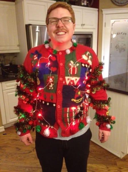 Worst Christmas Sweater Ever Justpost Virtually Entertaining - Best Christmas Moment