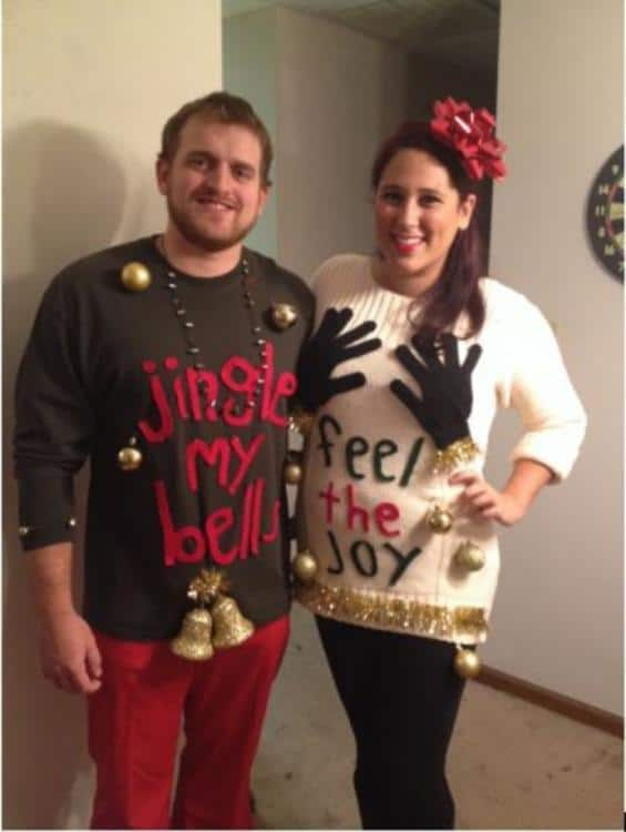 15 seriously ugly christmas sweater ideas that are guaranteed to be you can literally feel the christmas spirit ugly sweater5 solutioingenieria Gallery