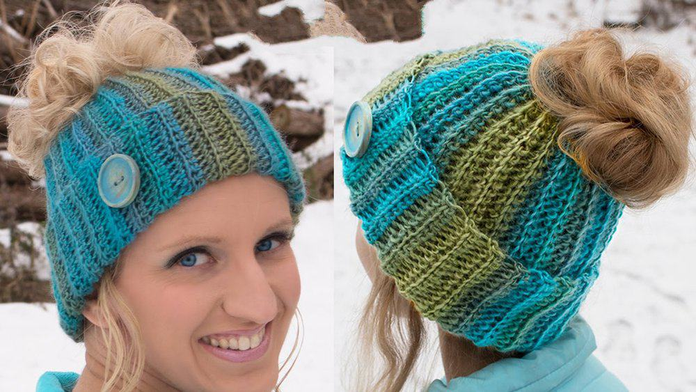 Loom a Hat – FREE Pattern Pictures & Video Tutorial