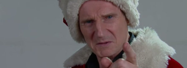 Liam Neeson Auditions For The Part Of Mall Santa Claus And It's Hilarious!