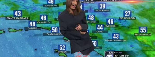 Meteorologist Giving Weather Report Had A Slight 'See Through' Wardrobe Malfunction