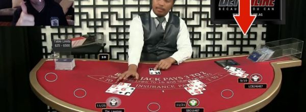 Man Catches Online Casino Dealer Using Slight Of Hand To Cheat During Blackjack Game