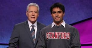 This banned bud light commercial is absolutely hilarious jeopardy contestant gives trebek the finger mozeypictures Images