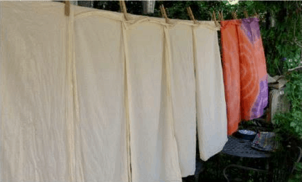 wash clothes camping