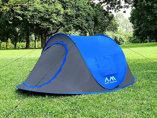 The Arctic Monsoon provides SPF 50+ UV protection and the rugged polyester shell is weather-resistant. A 180g PE mat is also included. They say the tent ... & The Easiest Tent In The World To Set Up! Unpack It. Throw It. Done ...