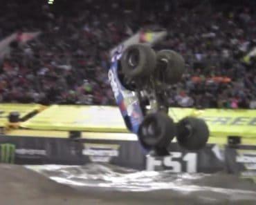 monster truck front flip