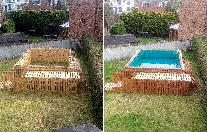 how to build the swimming pool