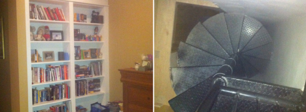Brothers Find Secret Room Behind Bookshelf And Soon Discover Something Super Creepy!