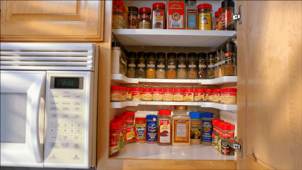 kitchen cabinet organizers walmart this 19 spicy shelf from walmart is a kitchen 19218