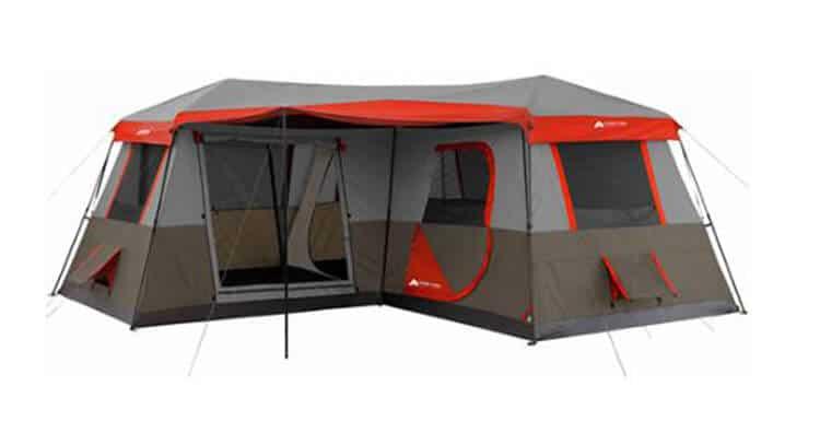 3 bedroom instant tent