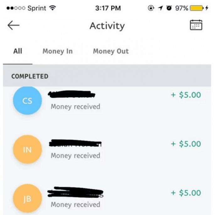 Tinder money