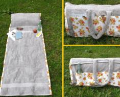 beach towel diy