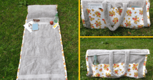 beach towel diy