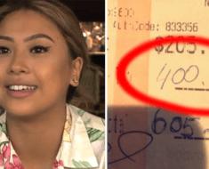 waitress big tip