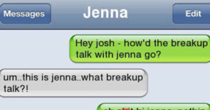 breakup text