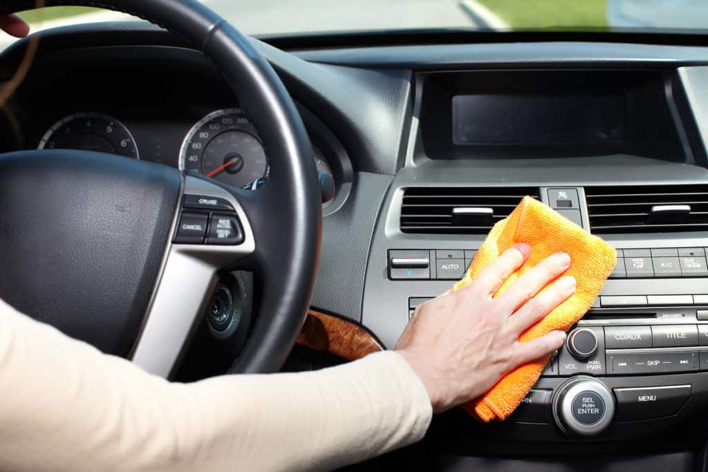 Car Leather Cleaning Service