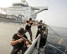 somali pirates cargo ship