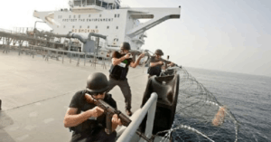 somali pirates cargo ship