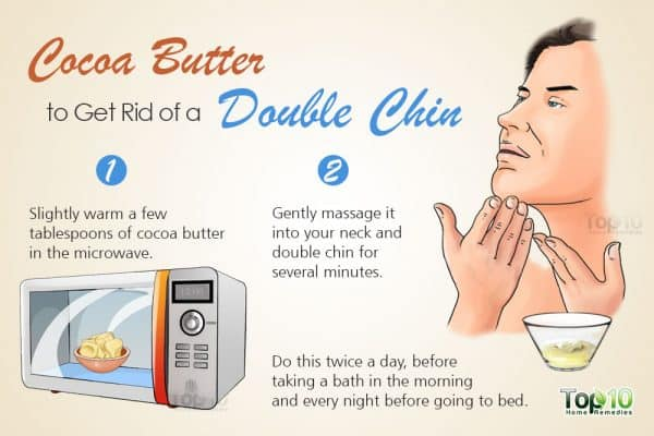 get rid of a double chin