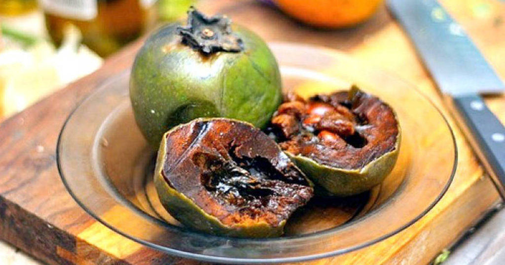 fruit chocolate Black sapote