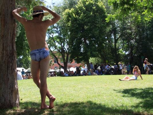 jeado jean bathing suit shorts