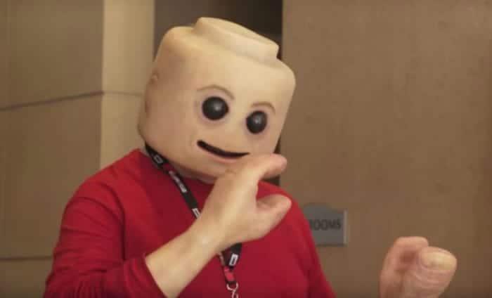 real life lego man