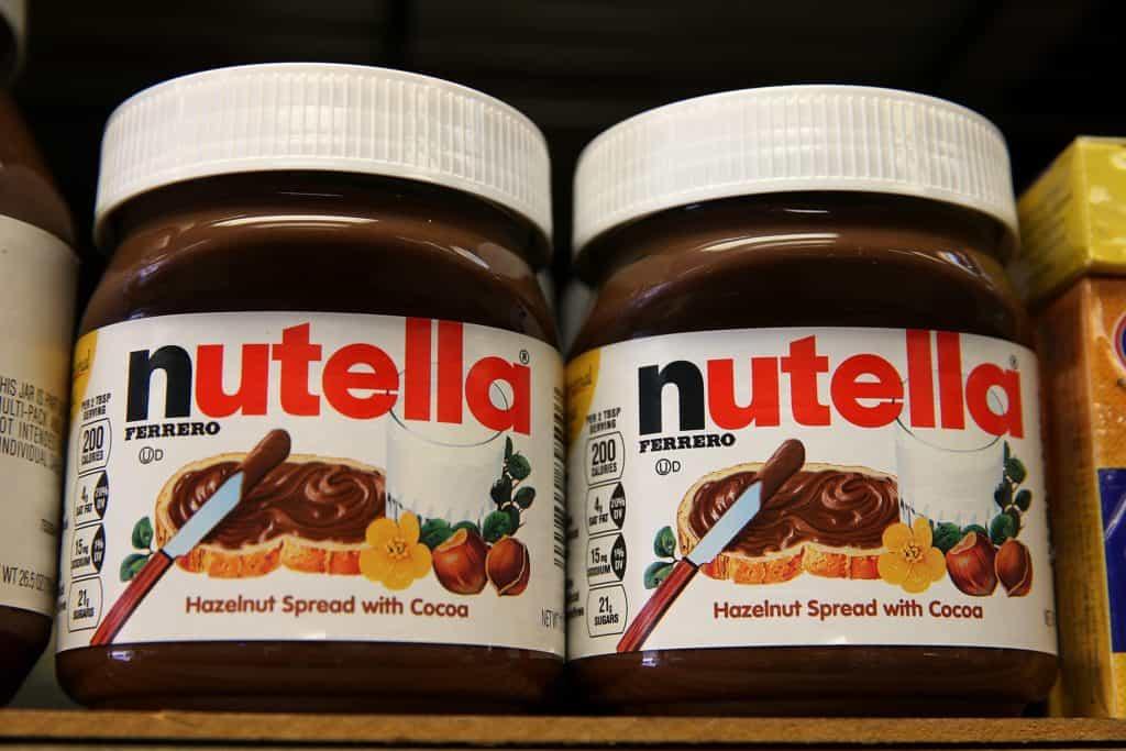 Nutella Ingredients