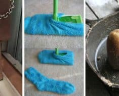 cleaning hacks pinterest