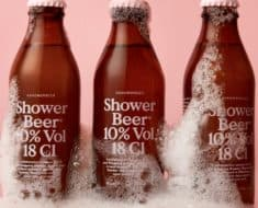 shower beer conditioner