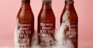 shower beer conditioner